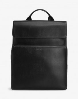 Matt and Nat Paxx Backpack Unify Vintage Collection Black Front