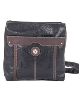Mouflon Essential Crossbody 1SY2693N Black Brown Front 1