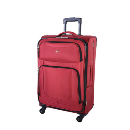 Swiss Gear Zernez II 24 inch Expandable Spinner SW14574 Red Front